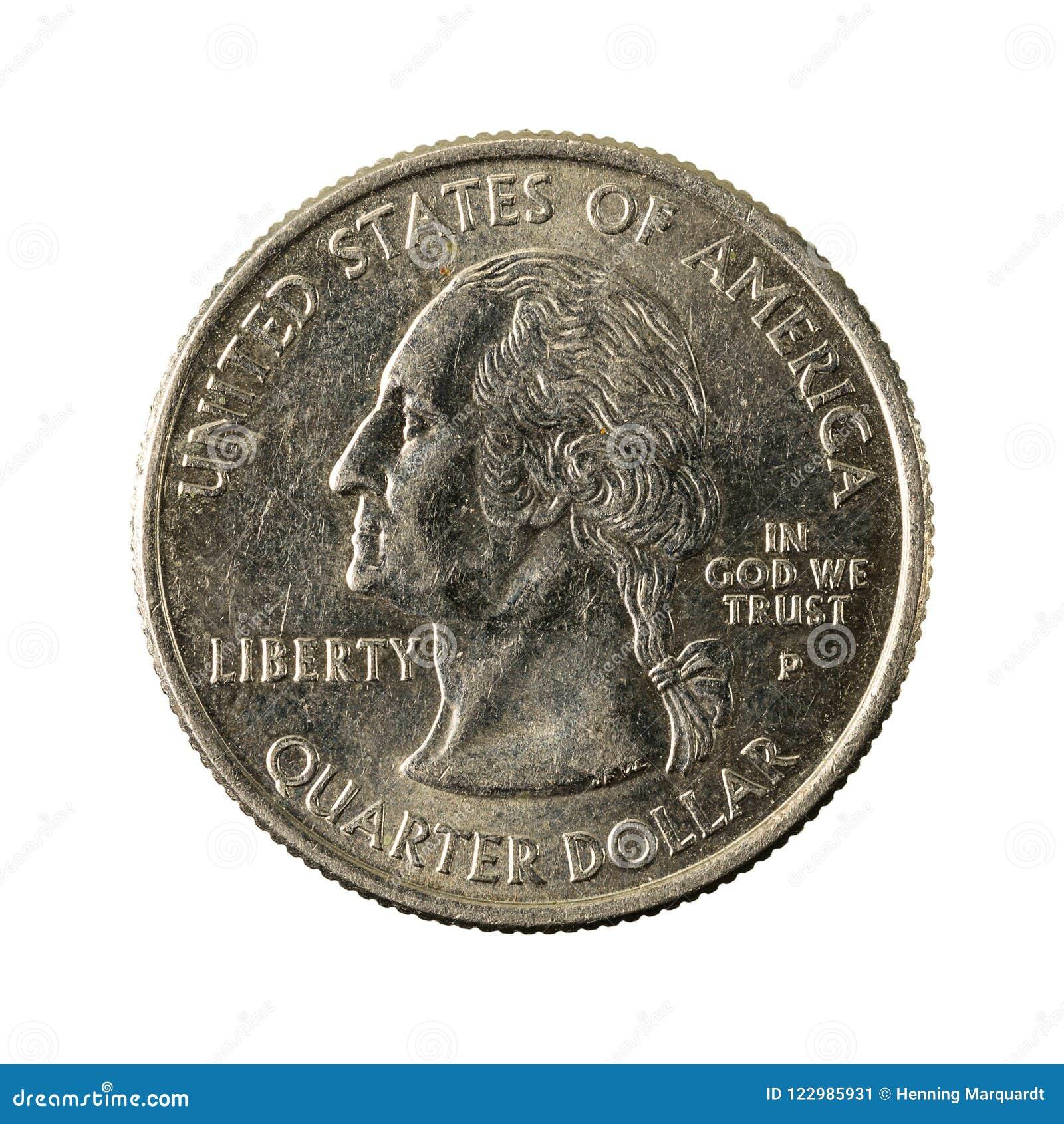 1 revés 2008 de Arizona de la moneda del cuarto de Estados Unidos