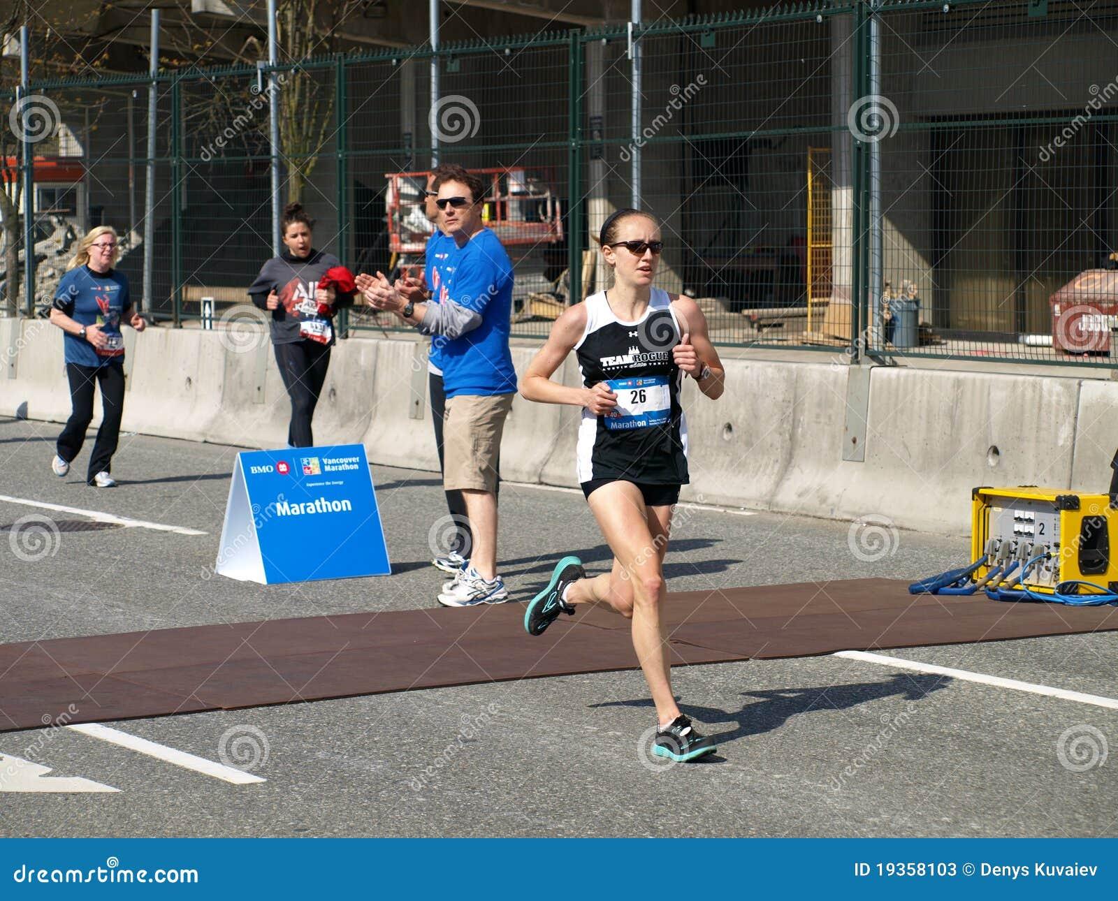 Revestimento da maratona de Vancôver