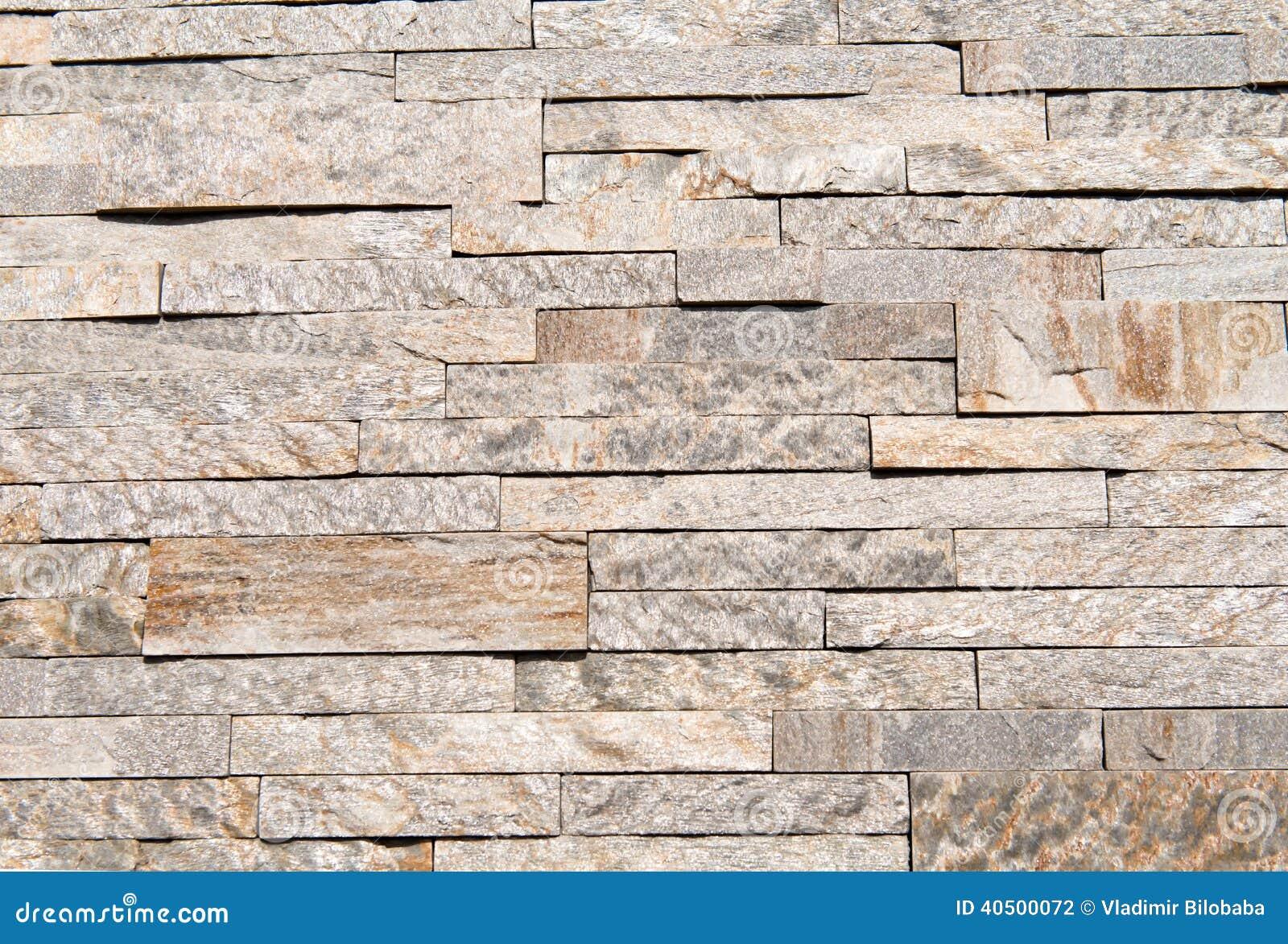 Revestimento De Pedra Natural De Construção Foto de Stock  ~ Revestimento Quartzo Pedra