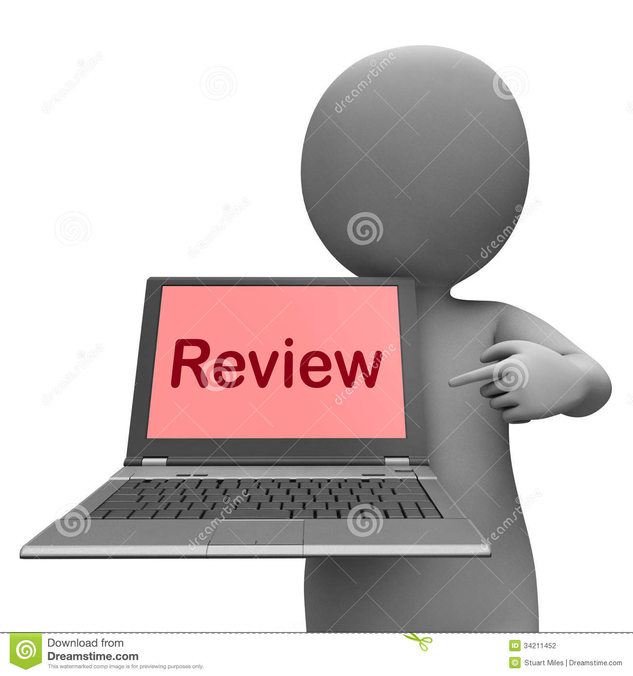 Review Laptop Means Check Evaluate Or Examine Stock