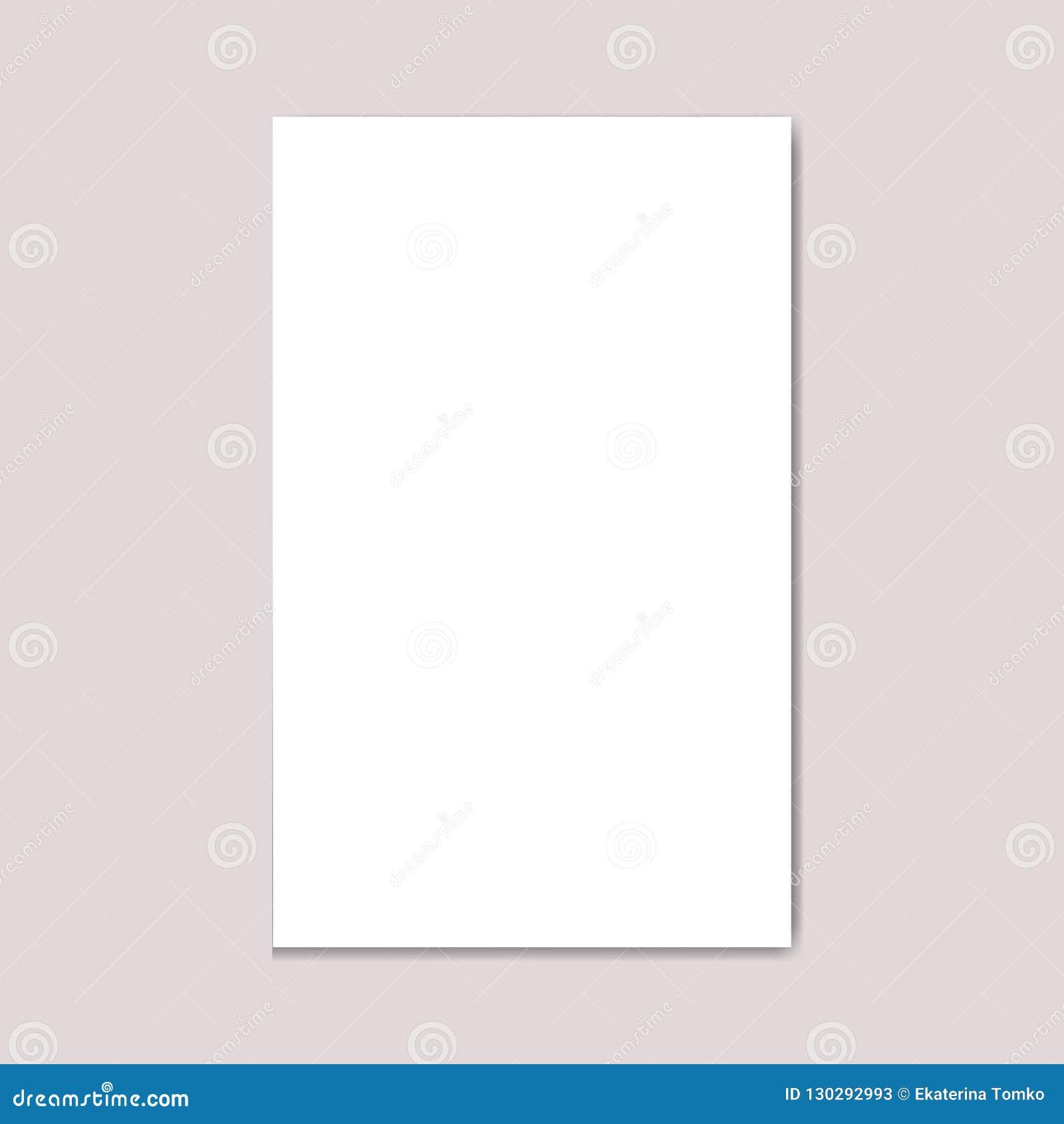 Revista en blanco del folleto del formato de la Nosotros-letra del paisaje