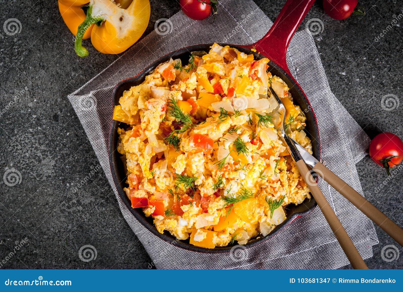 Revoltillo de Huevos, förvanskade ägg en Dominicana la