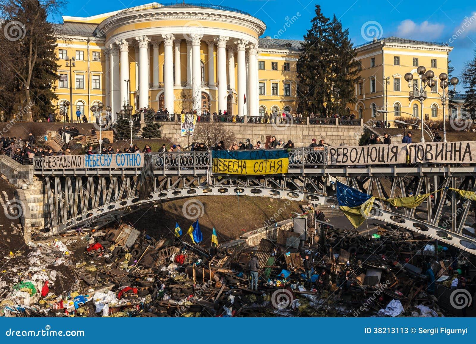 Revolución ucraniana, Euromaidan después de un ataque del gobierno f