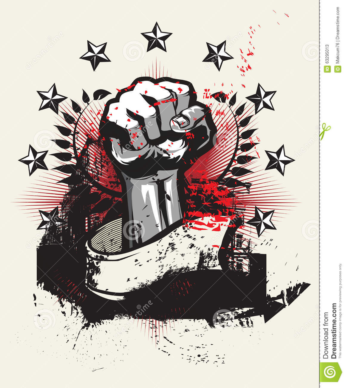 Revolution And Protest Stock Vector