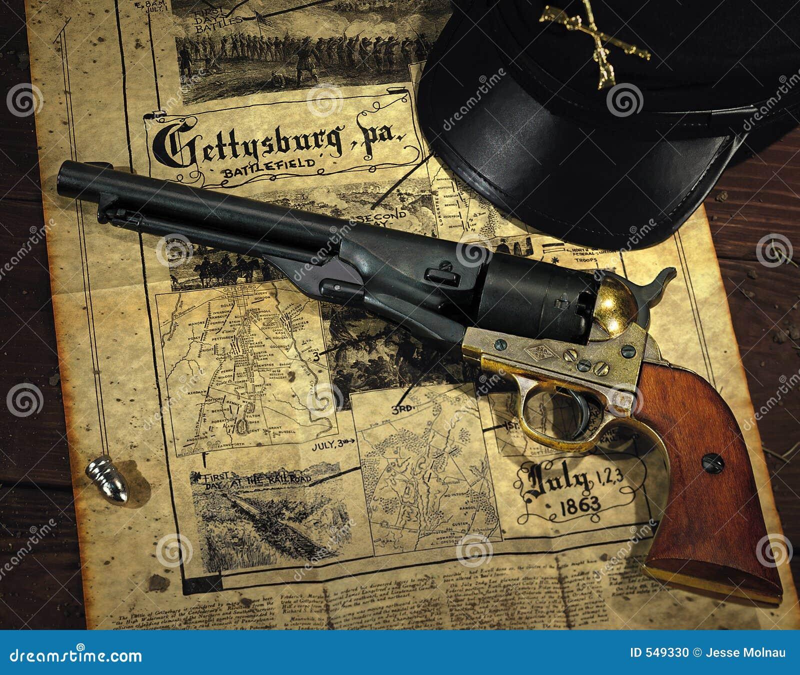 Revolver de guerre civile