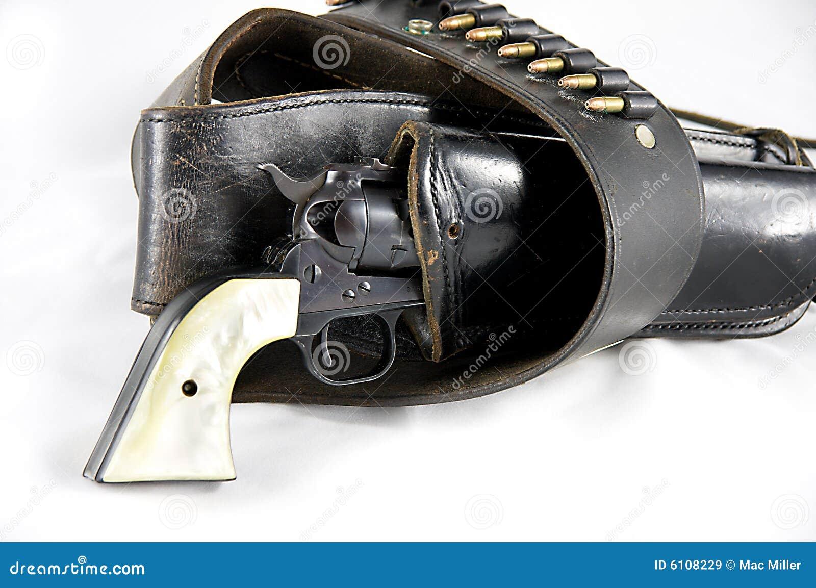 Western Revolver Gun Revolver Gun in Holster
