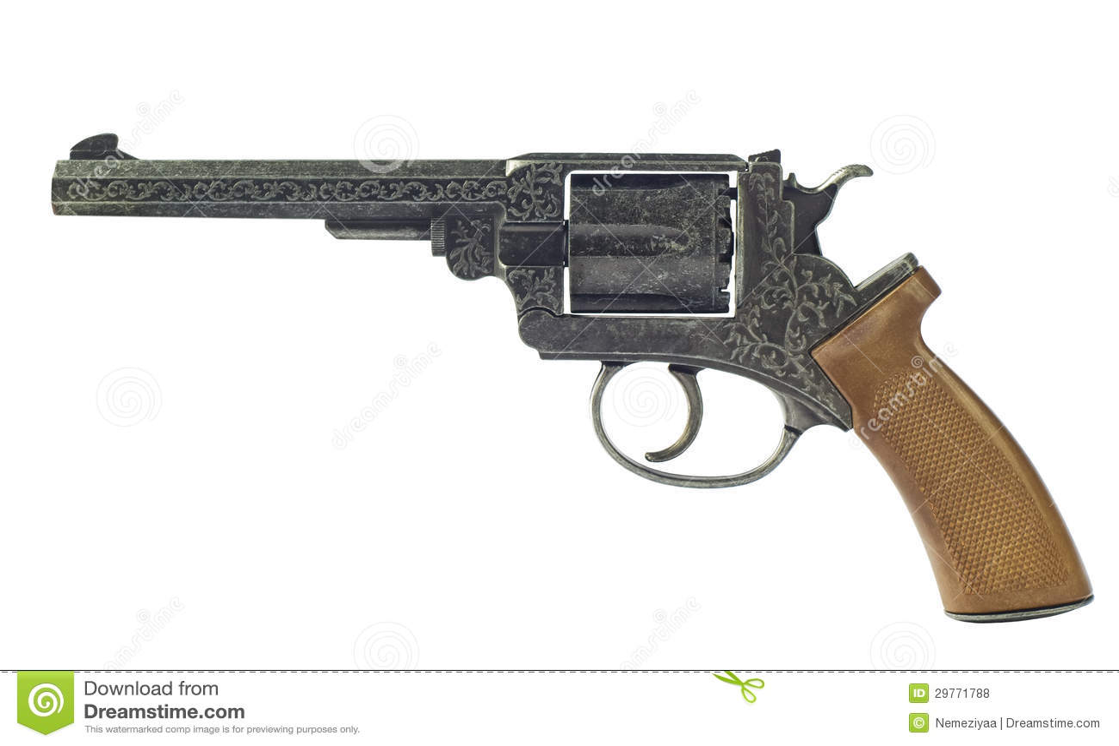 gun white background - photo #47