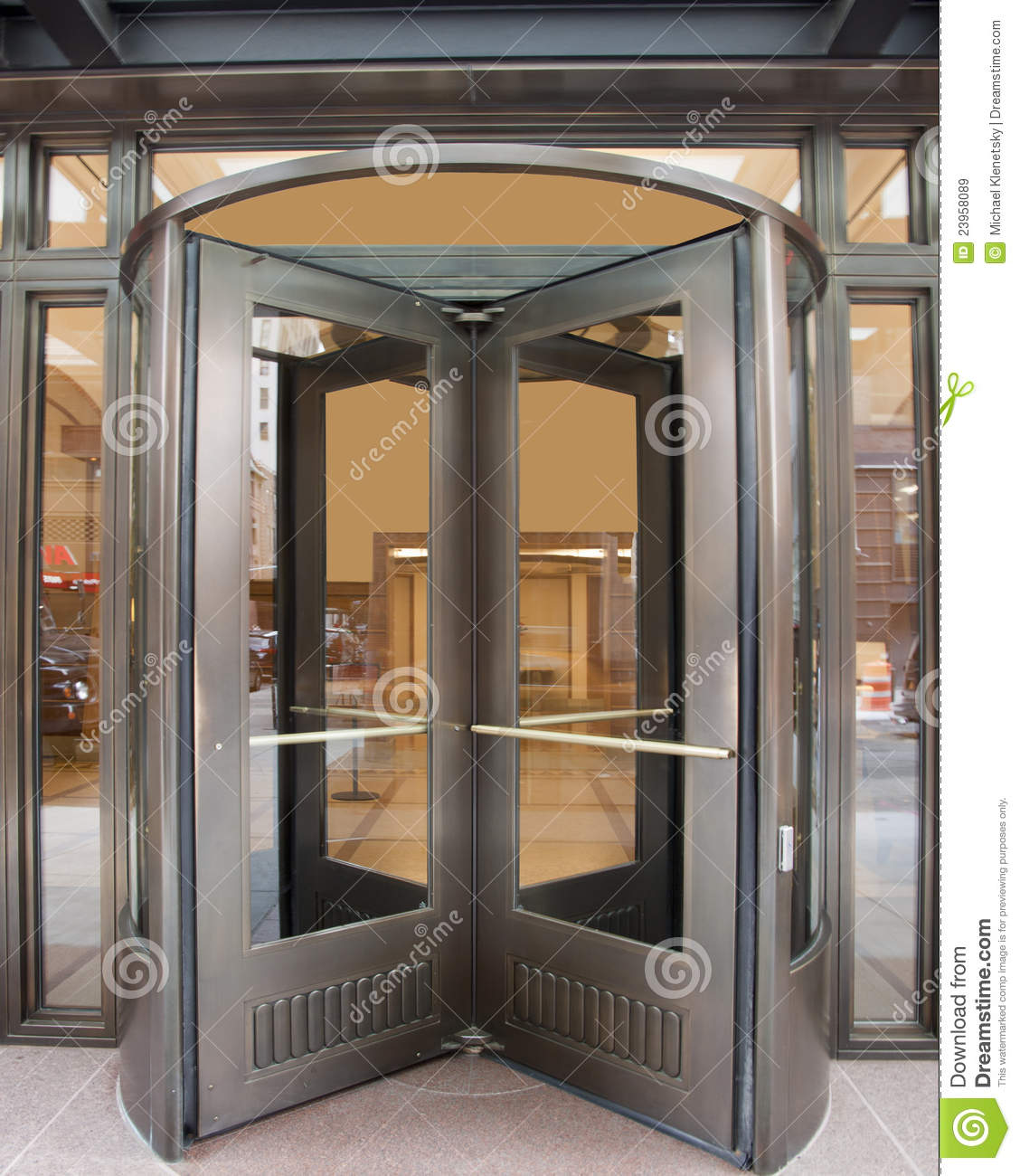 Revolving Door Royalty Free Stock Images Image 23958089