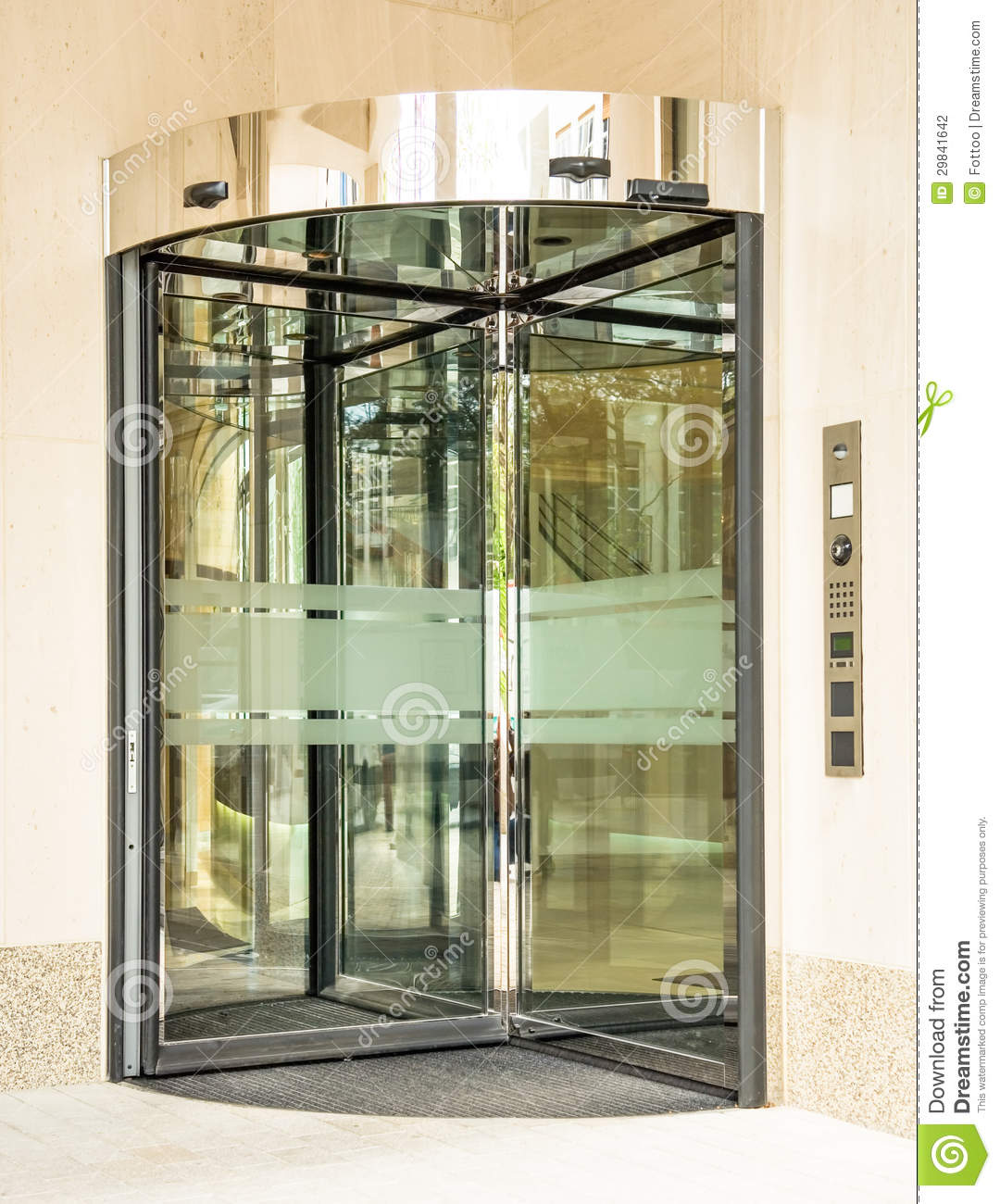 Revolving doors stock photography image 29841642