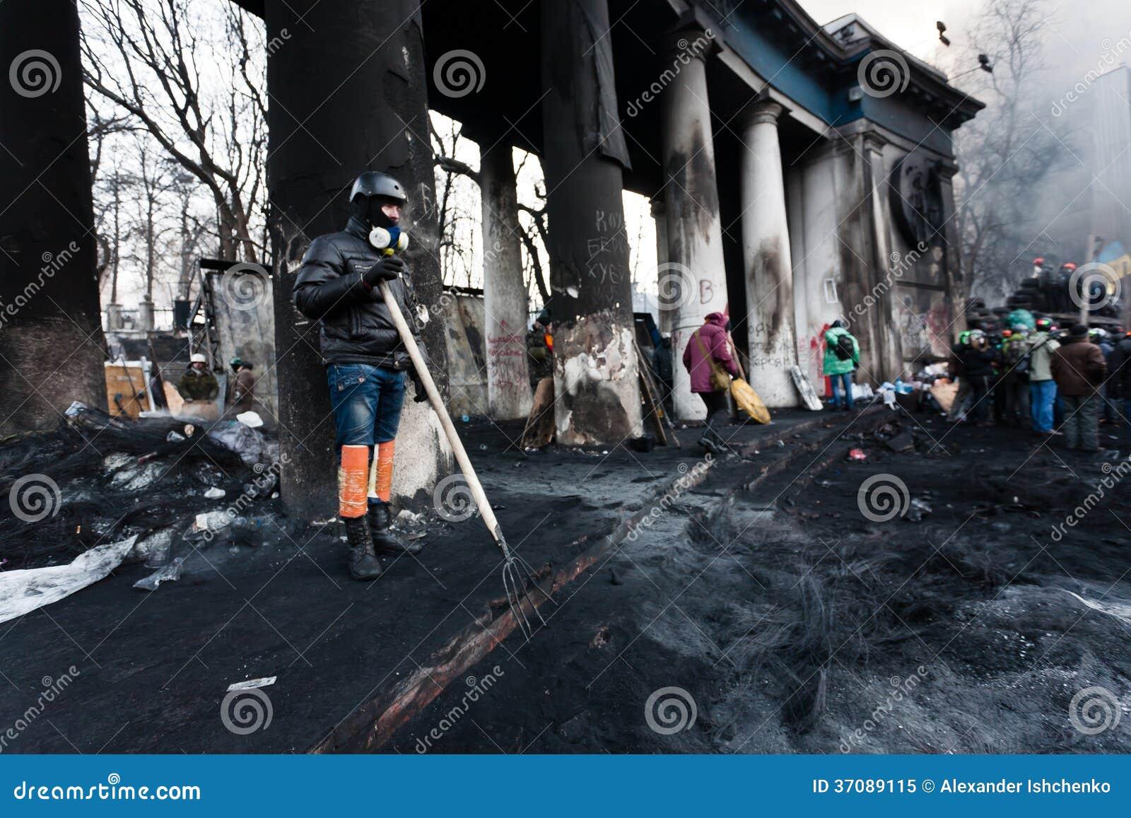 Download Rewolucja w Ukraina. obraz editorial. Obraz złożonej z skojarzenie - 37089115
