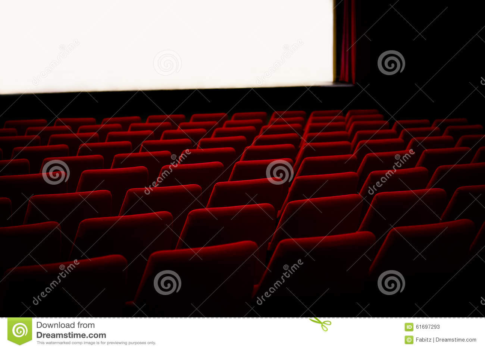 Rewolucjonistek krzesła w kinowym teatrze