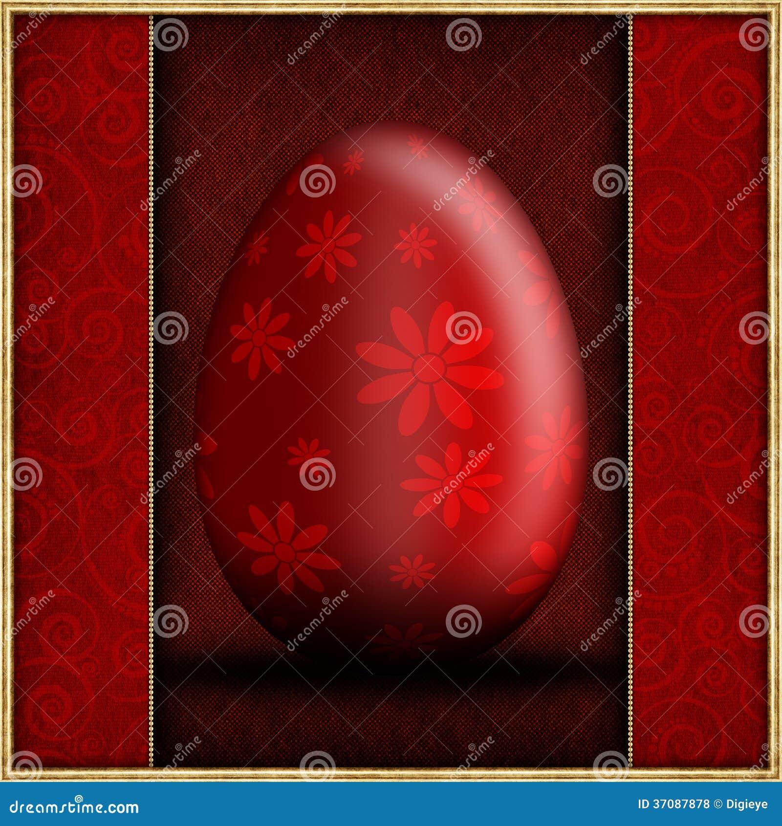 Download Rewolucjonistka Deseniujący Wielkanocny Jajko Ilustracji - Ilustracja złożonej z szablon, światło: 37087878