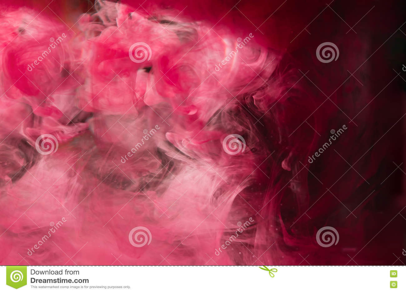 Rewolucjonistka Różowy Atrament W Wodzie światła Słonecznego