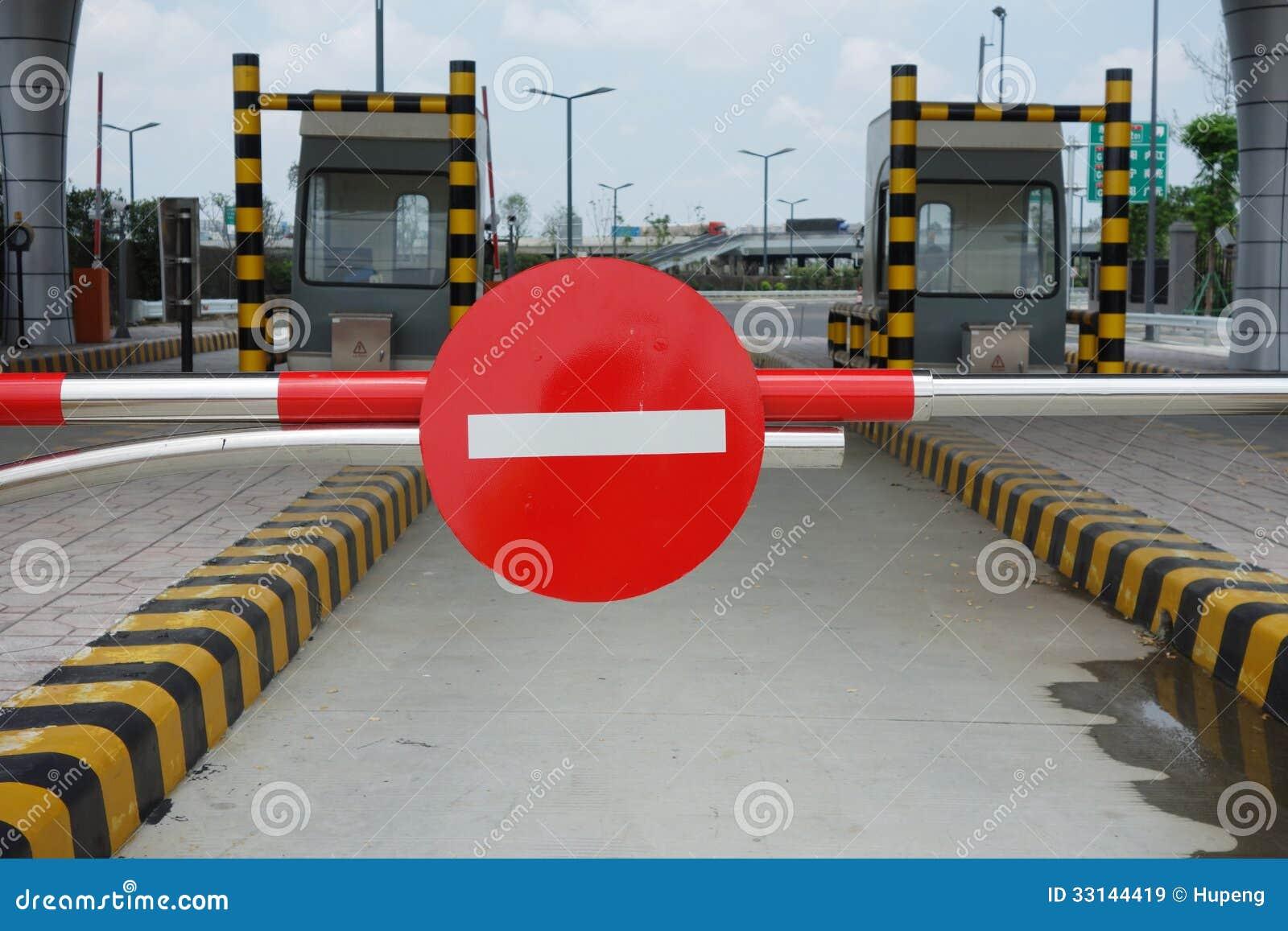 Rewolucjonistka zakazujący ruchu drogowego znak