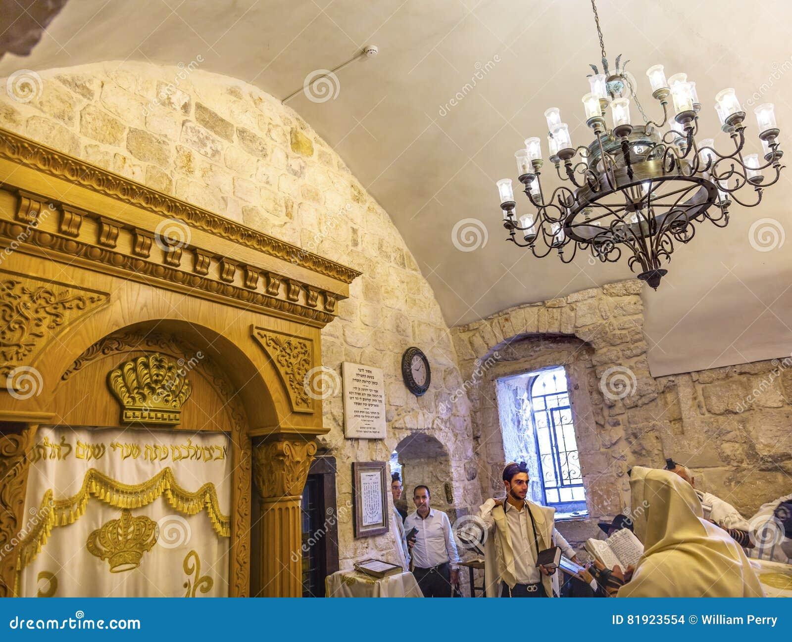 Rey David Tomb Crusader Building Jerusalem Israel del bar mitzvah
