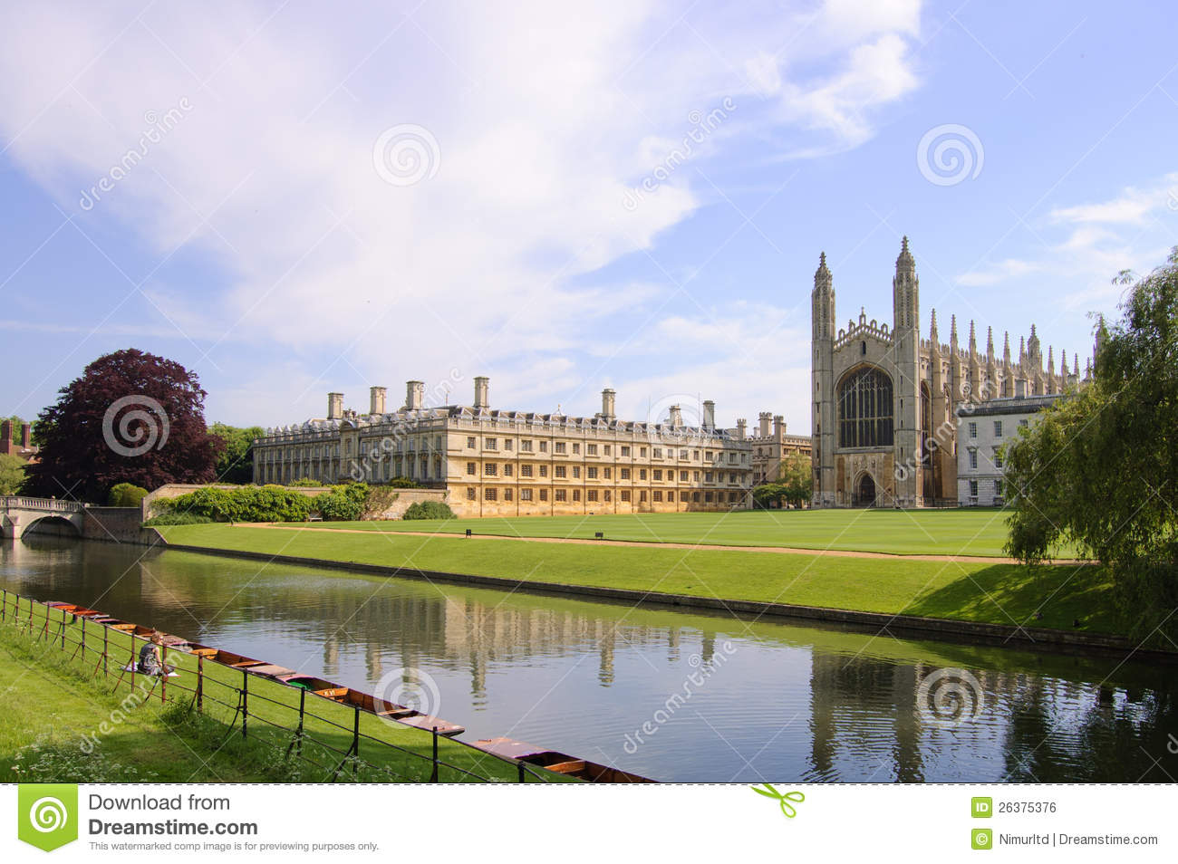 Reyes College y capilla, Cambridge