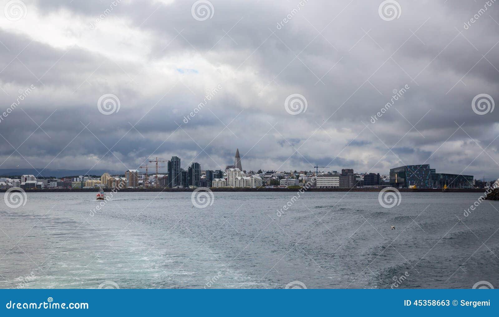 Reykjavik du bateau