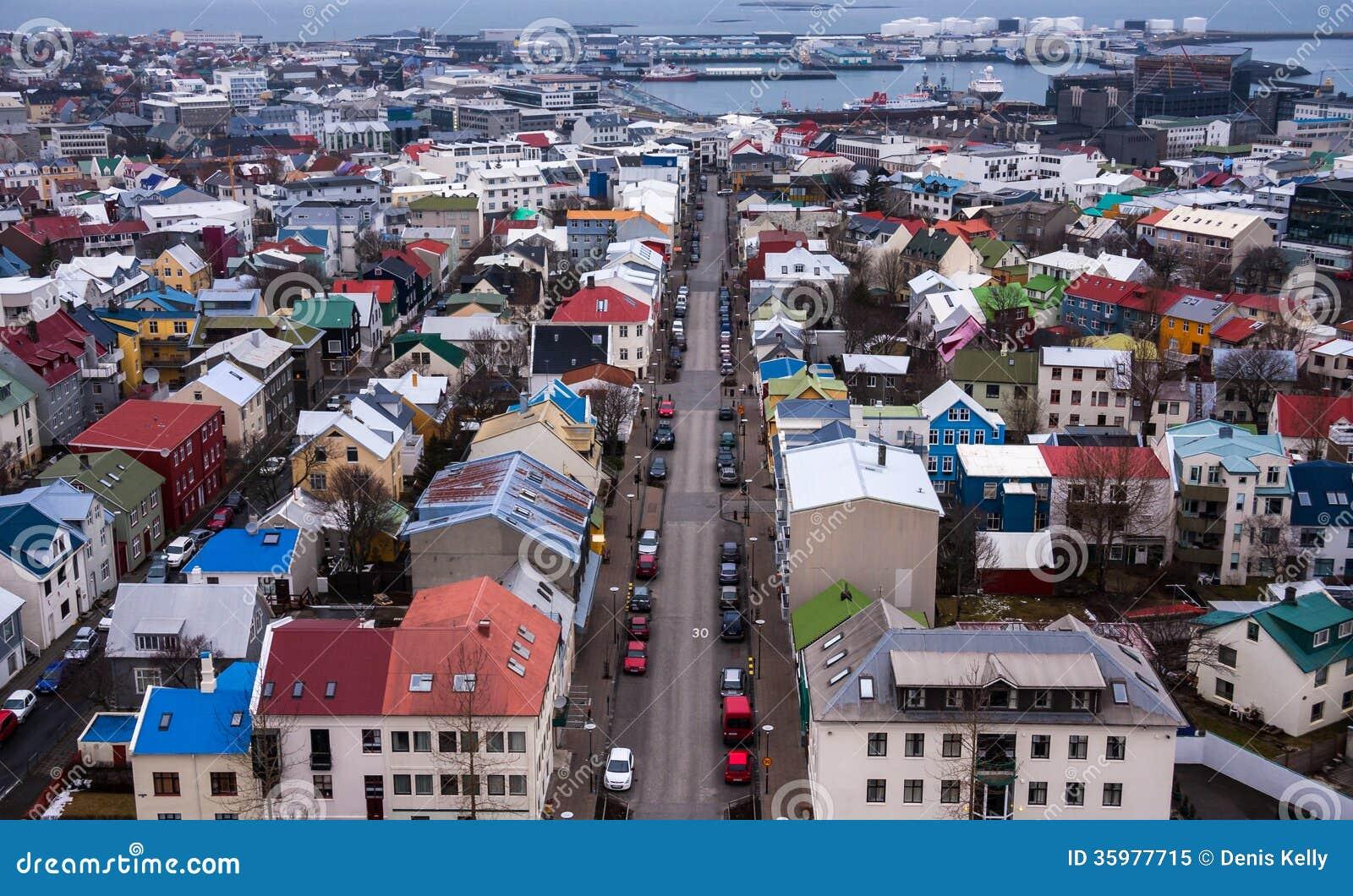Reykjavik w Iceland