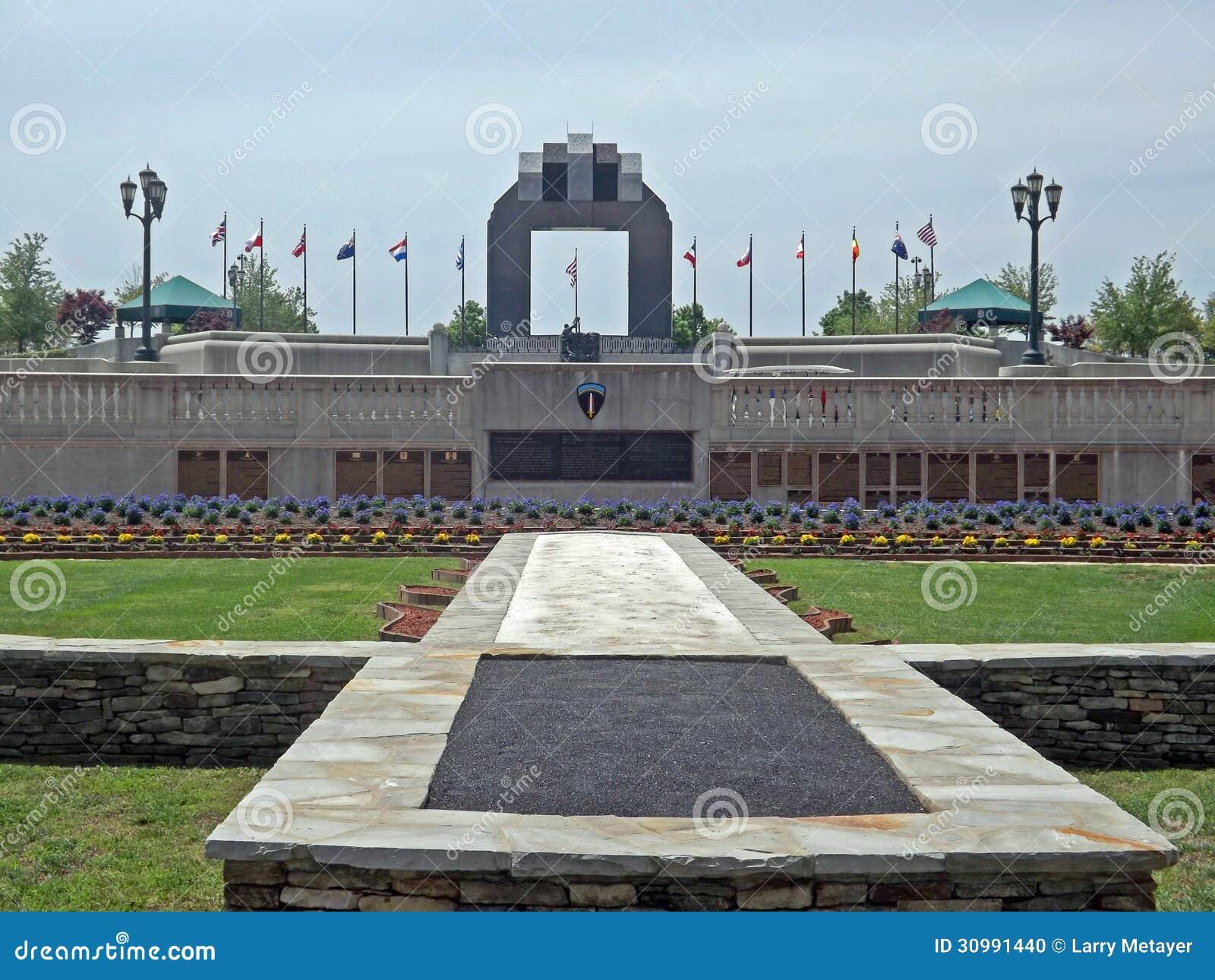Reynolds Garden National D Day Memorial Bedford Va Usa