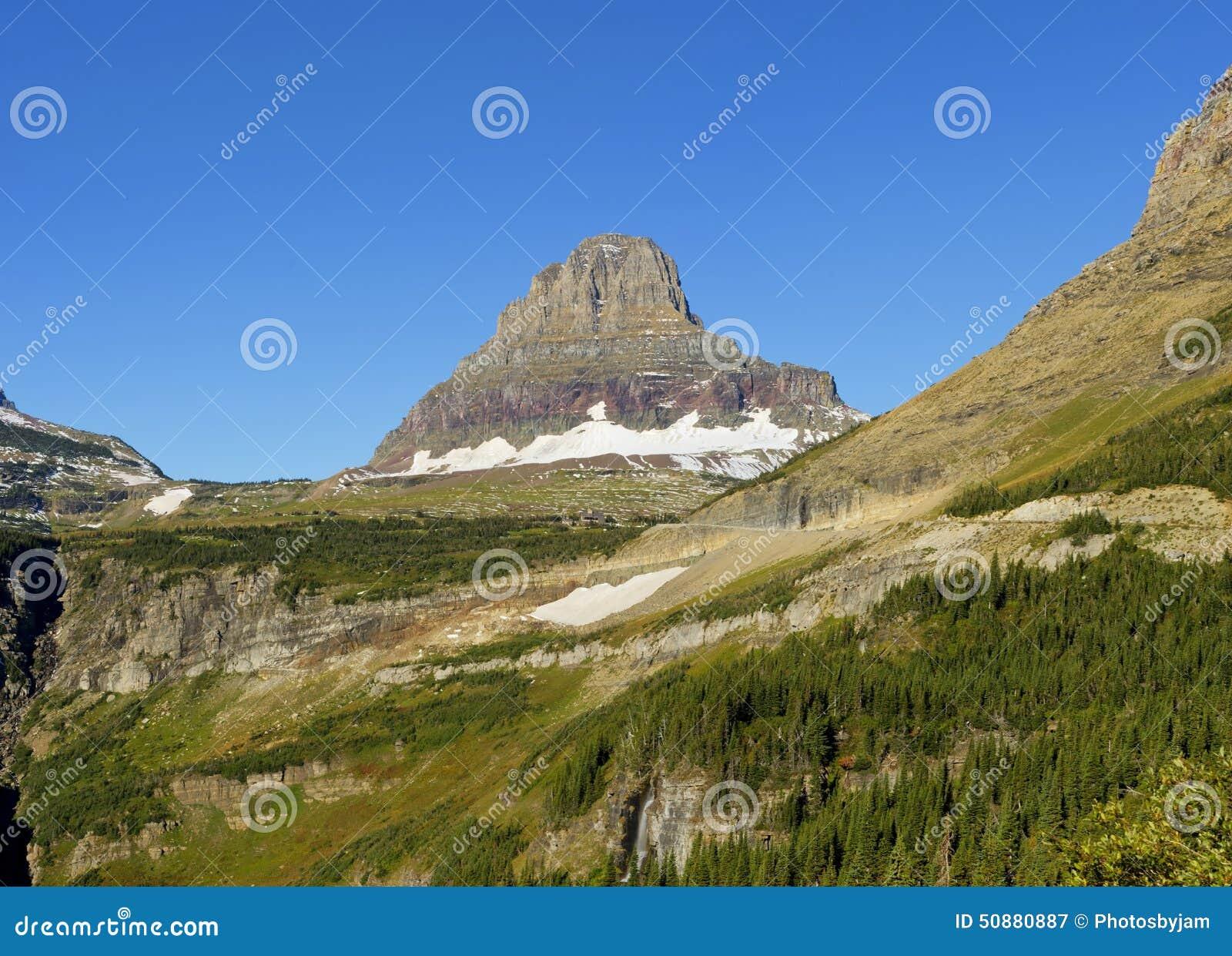 Reynolds Mountain, parc national de glacier
