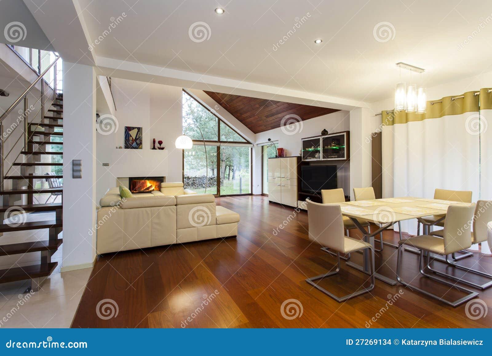 maison moderne rez de chaussee