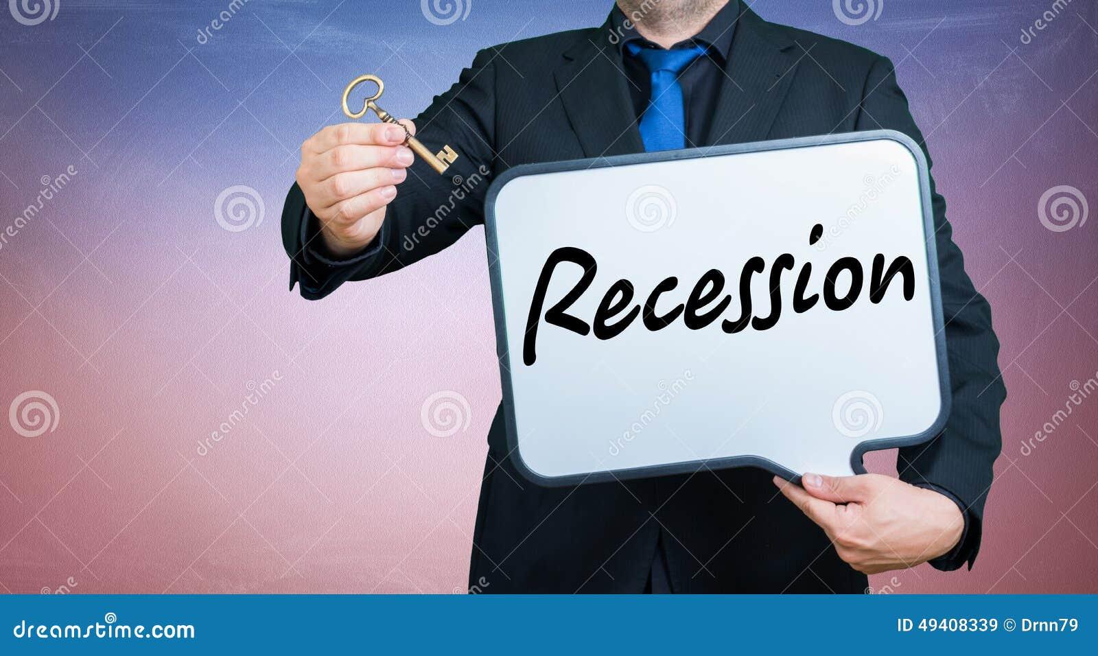 Download Rezessionsgeschäftsmann stockbild. Bild von büro, whiteboard - 49408339