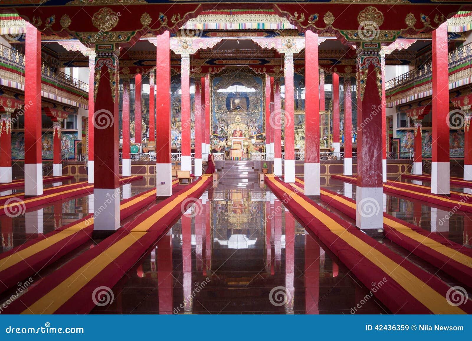 Rezo budista Pasillo