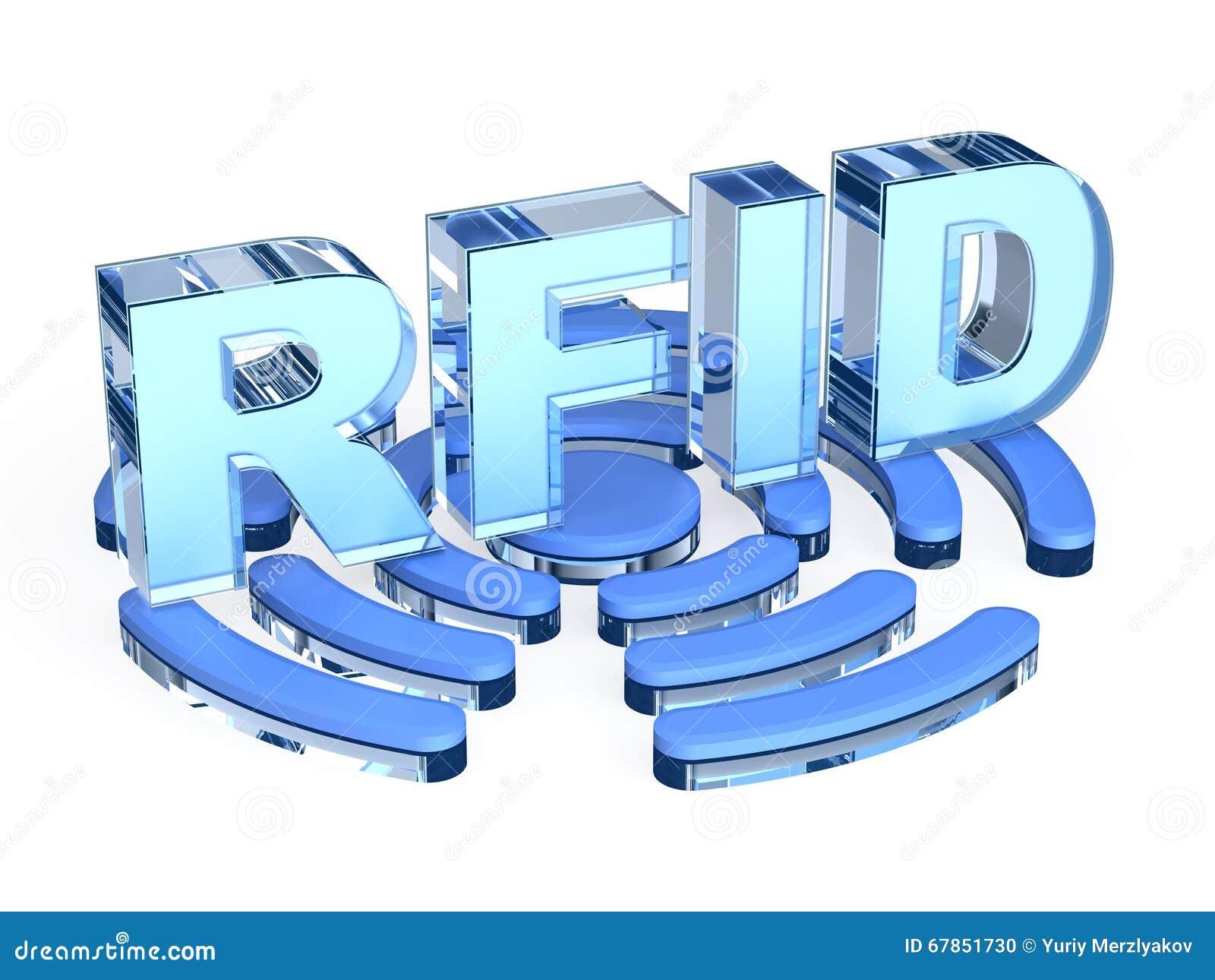RFID-teknologitecken