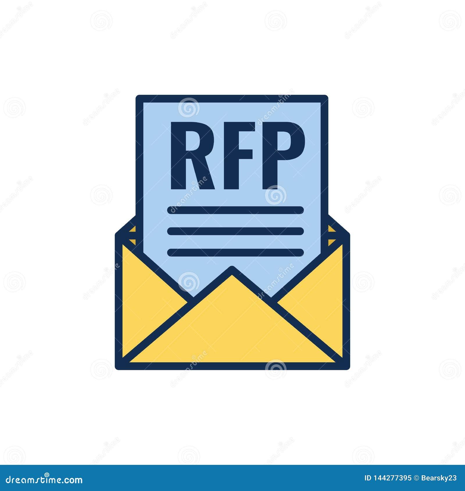 RFP象-索取承包人估价书概念或想法