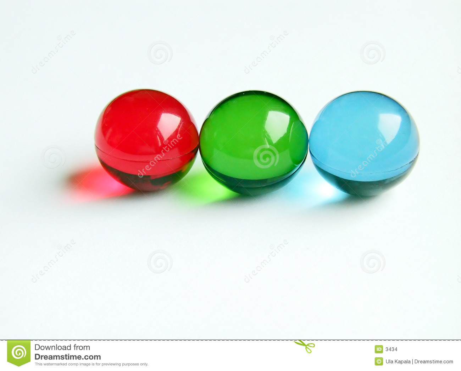 RGB bath balls