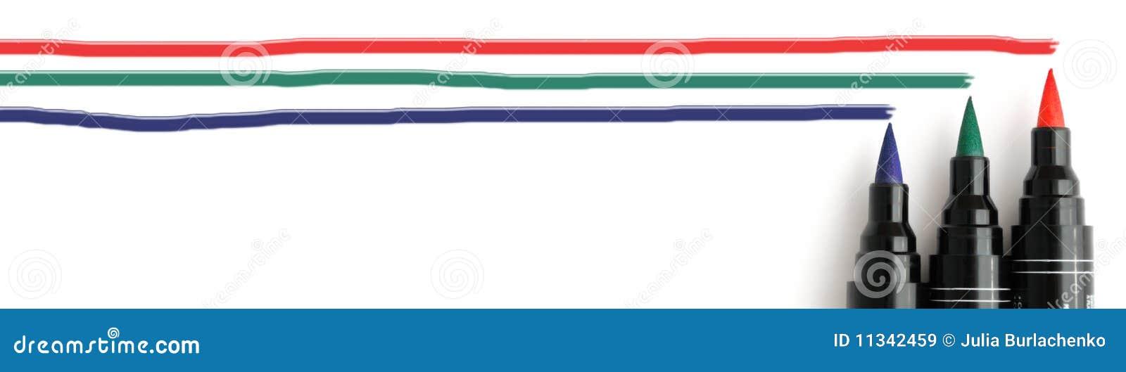 RGB markers header