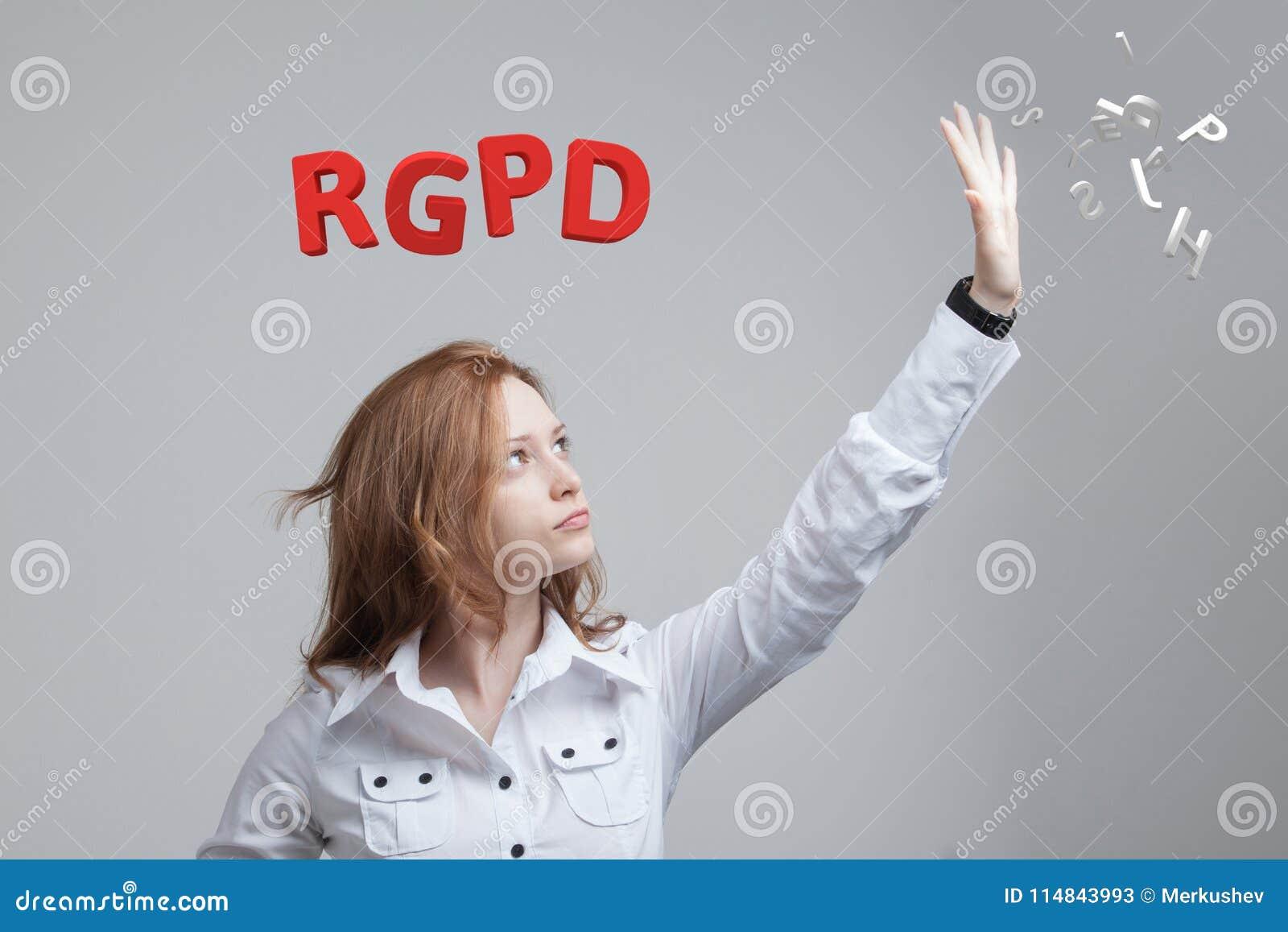 RGPD, испанский язык, француз и итальянская версия версии GDPR: Datos Reglamento Генерала de Proteccion de Общие данные