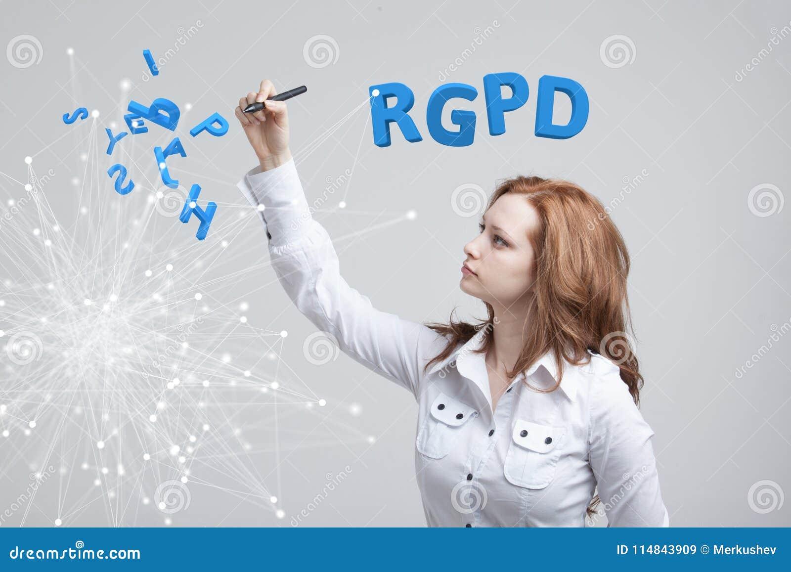 RGPD, hiszpańszczyzn, francuza i włoszczyzny wersi wersja GDPR: Reglamento Ogólny De Proteccion de datos Ogólni dane