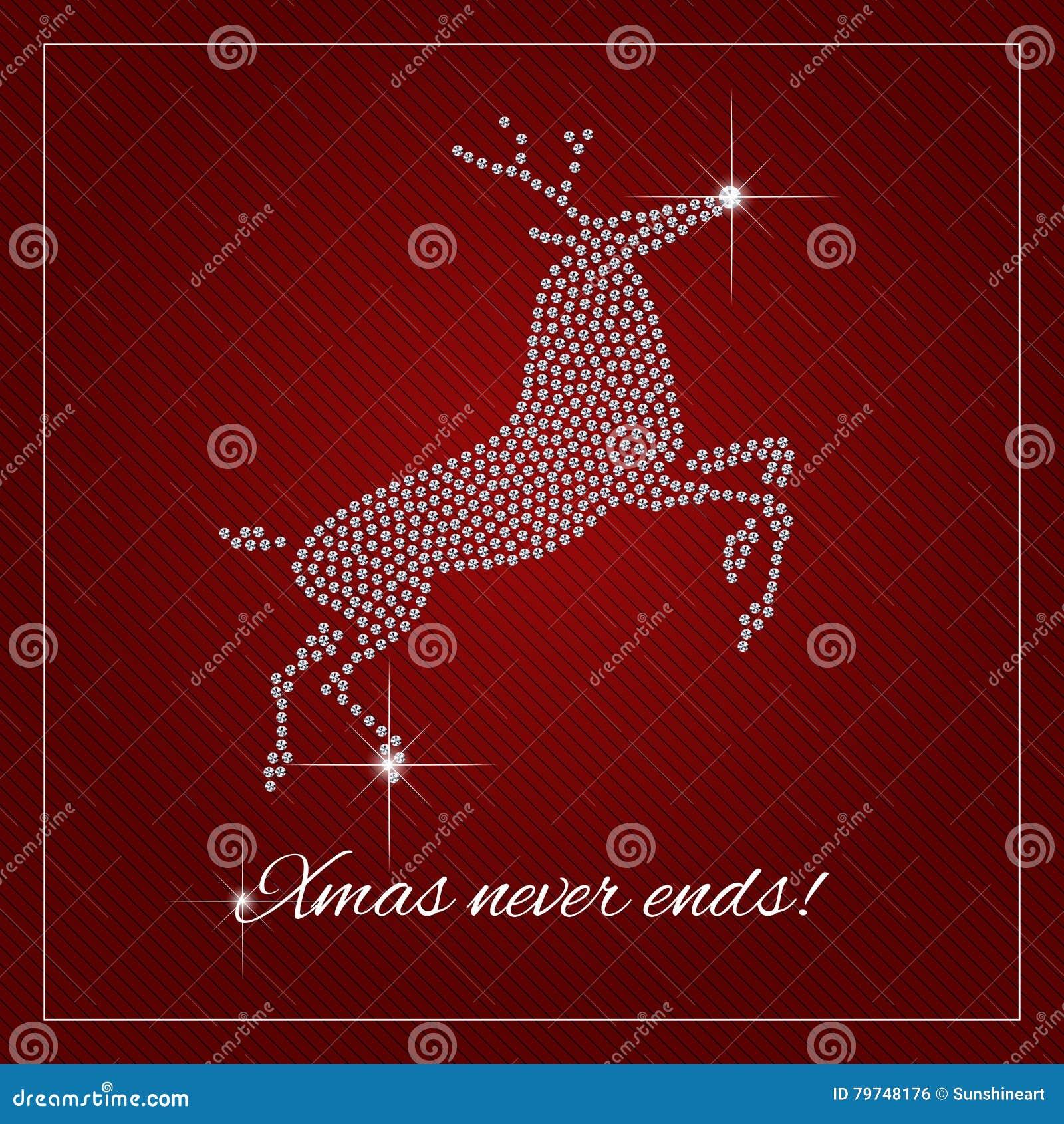 rhinestone holiday season template stock vector image 79748176 rhinestone holiday season template