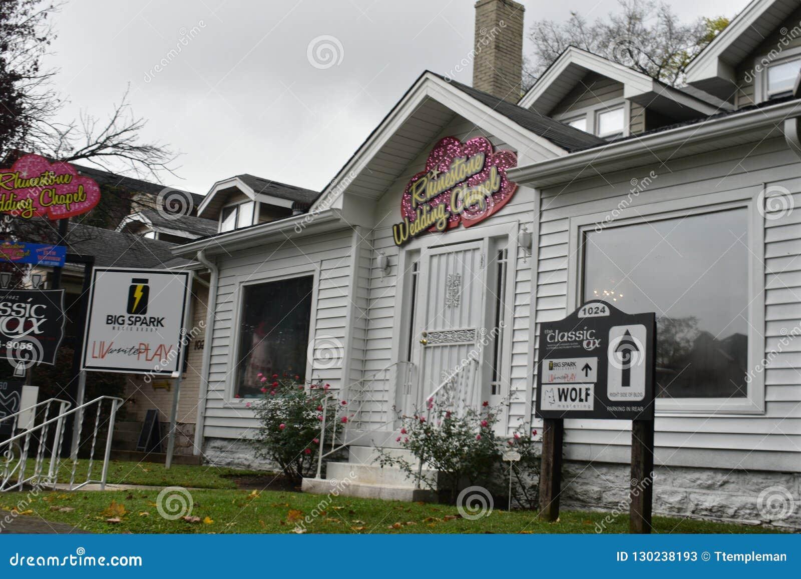 Historic Music Row Buildings Face Demolition Editorial Stock