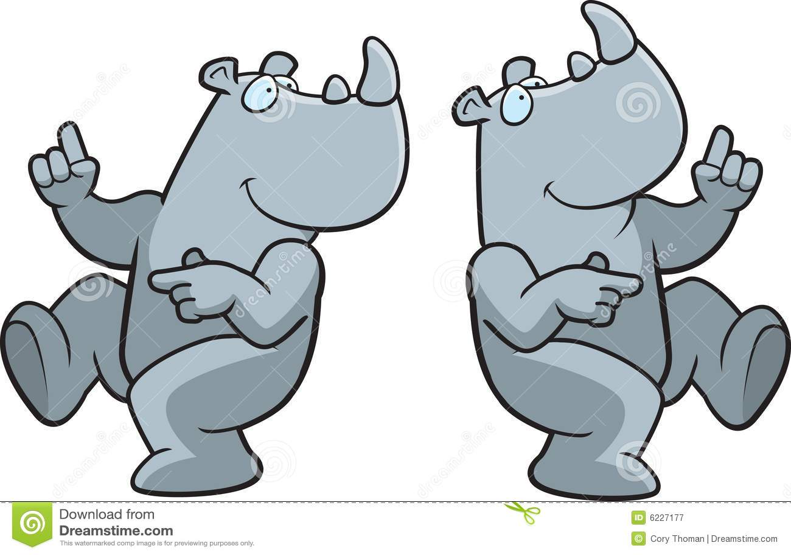 Rhinocéros de danse