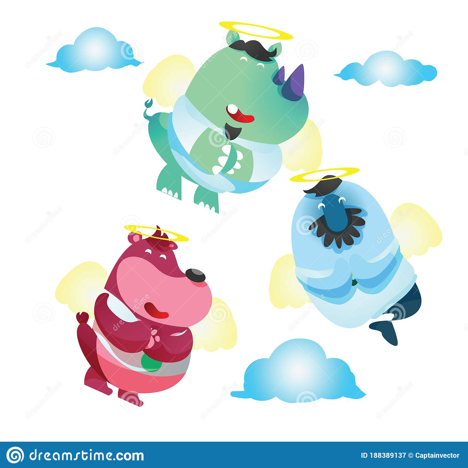 cartoon angel clipart & stock photography | Acclaim Images