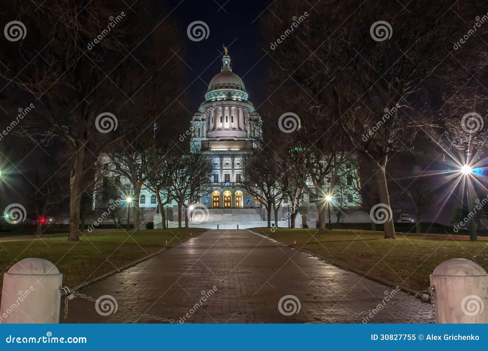Rhode Island State House nella provvidenza