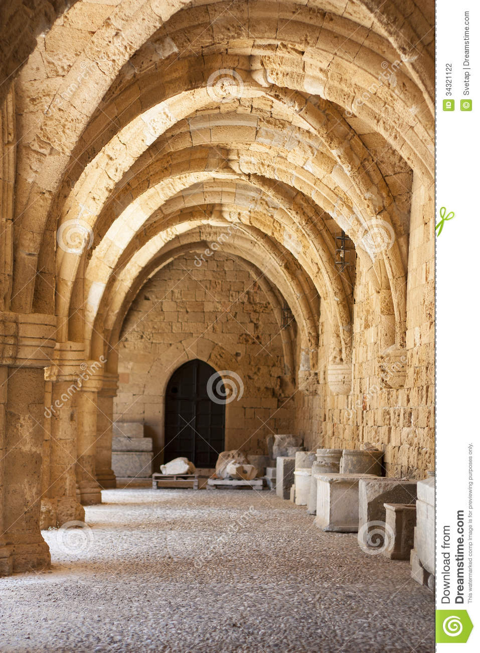 Rhodes Archaeological Museum The Medieval Building Of The ...