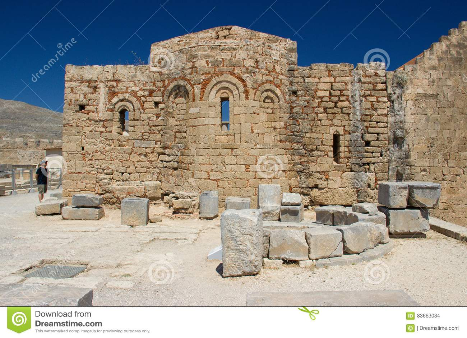 Rhodos Greece architecture historic buildings