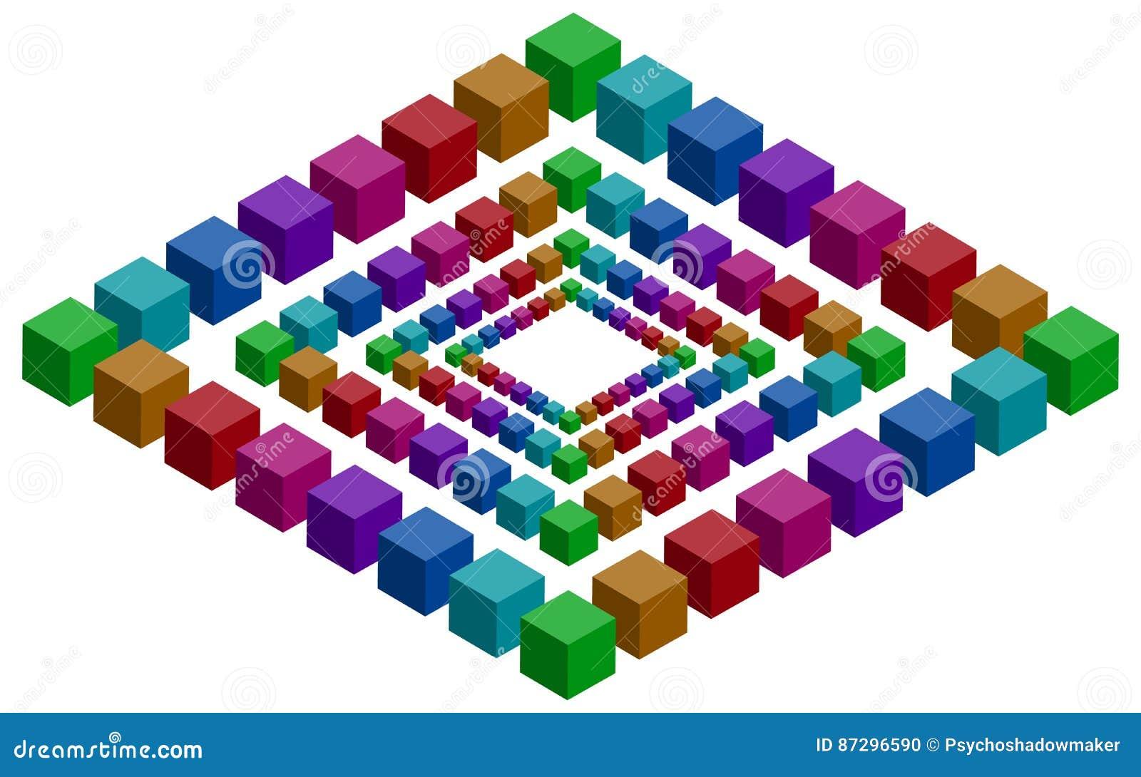 Rhomb illusion