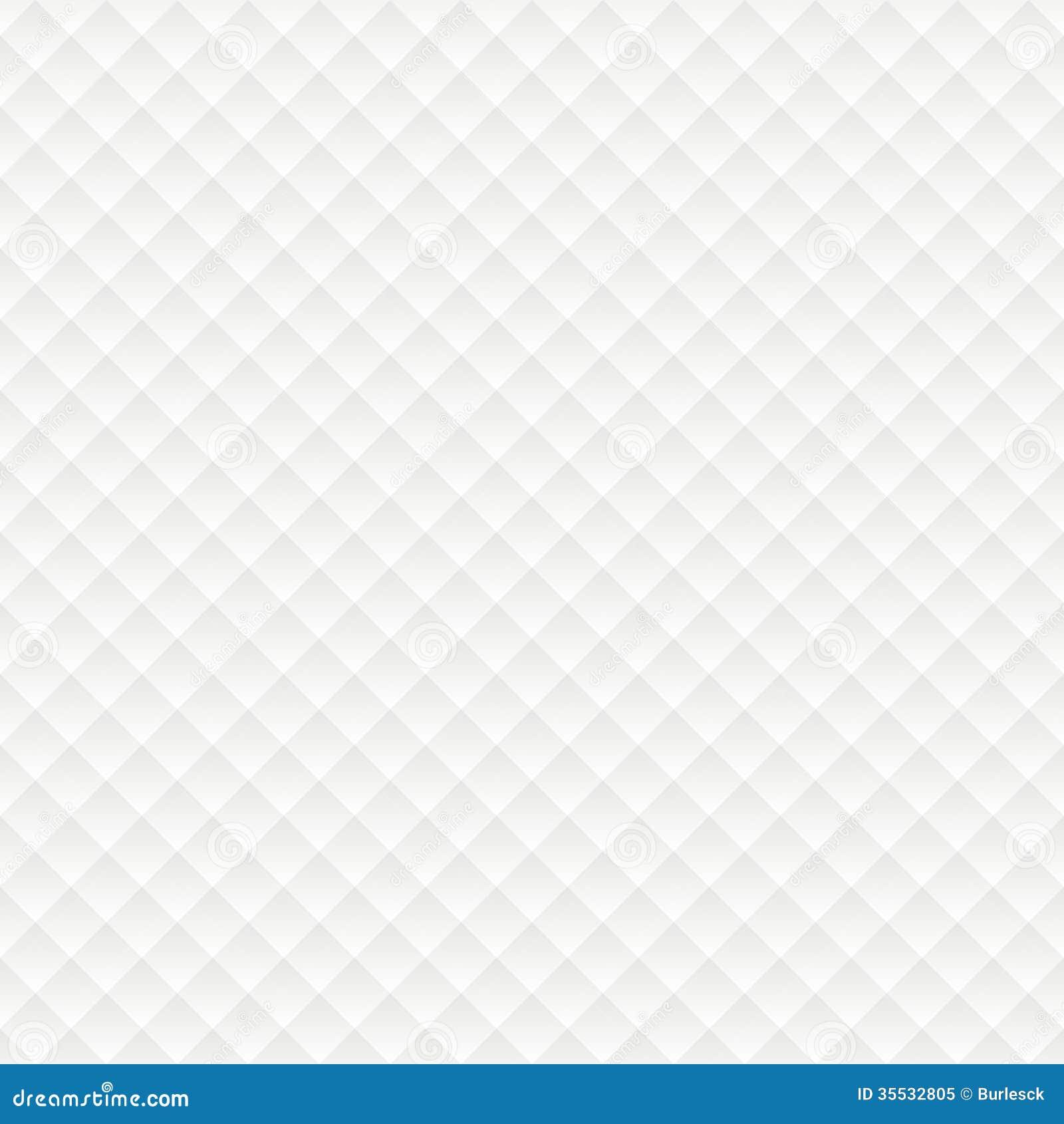 Rhombus Seamless White Background Stock Vector