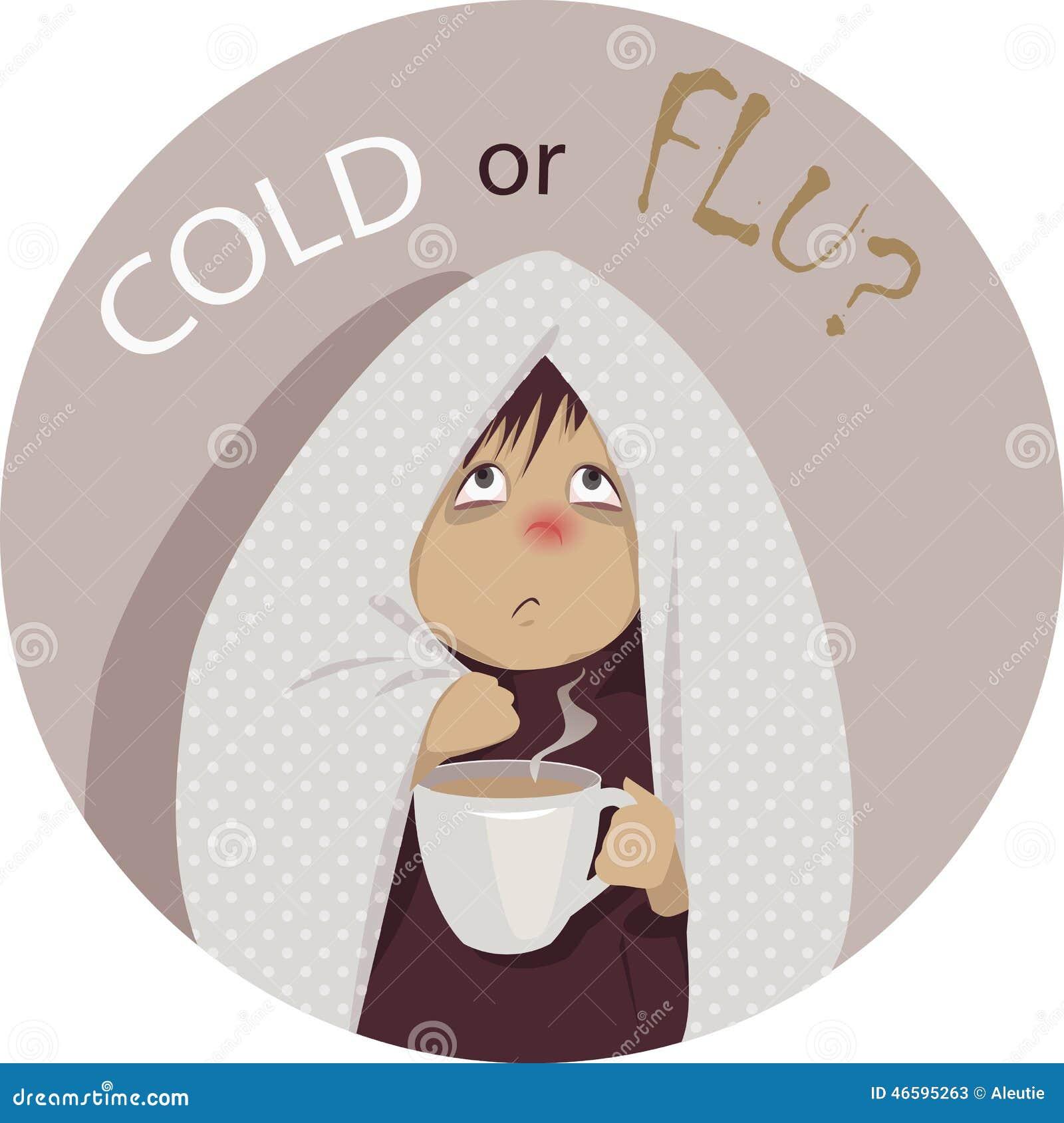 Rhume de cerveau ou grippe ?