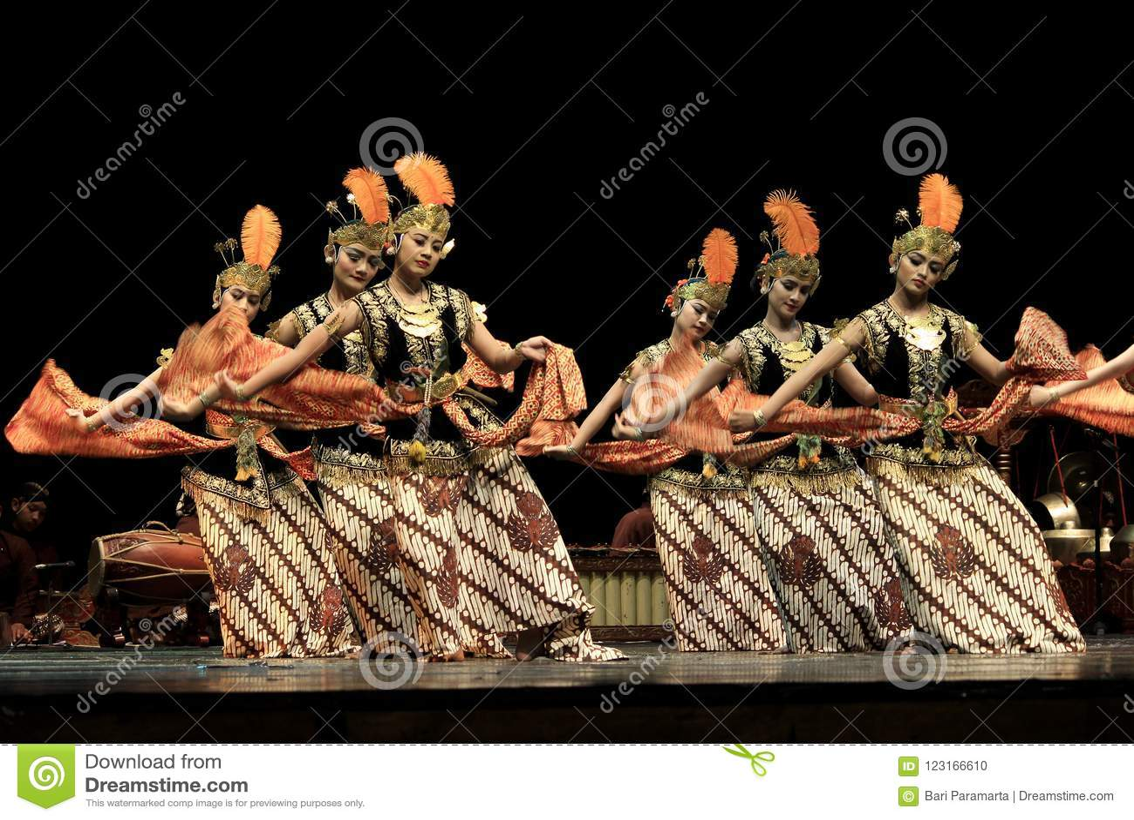 Rhythmic Motion Classical Dance Yogyakarta
