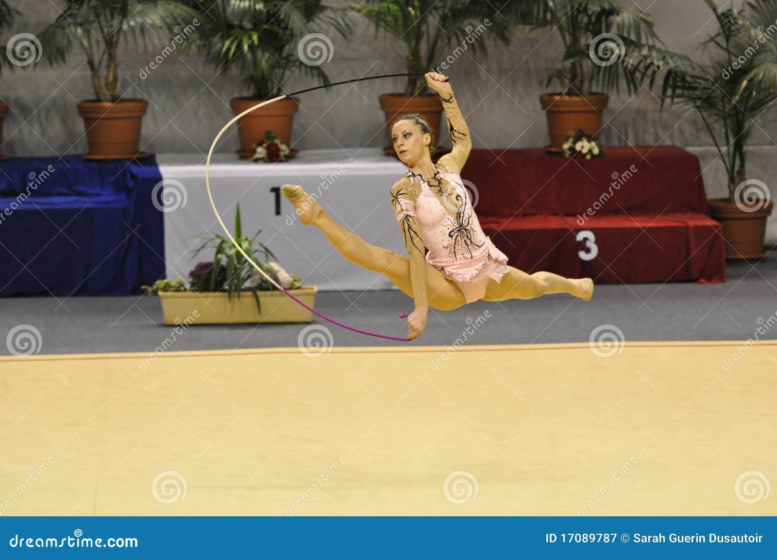 Rhythmisches gymnastisches, Delphine Ledoux
