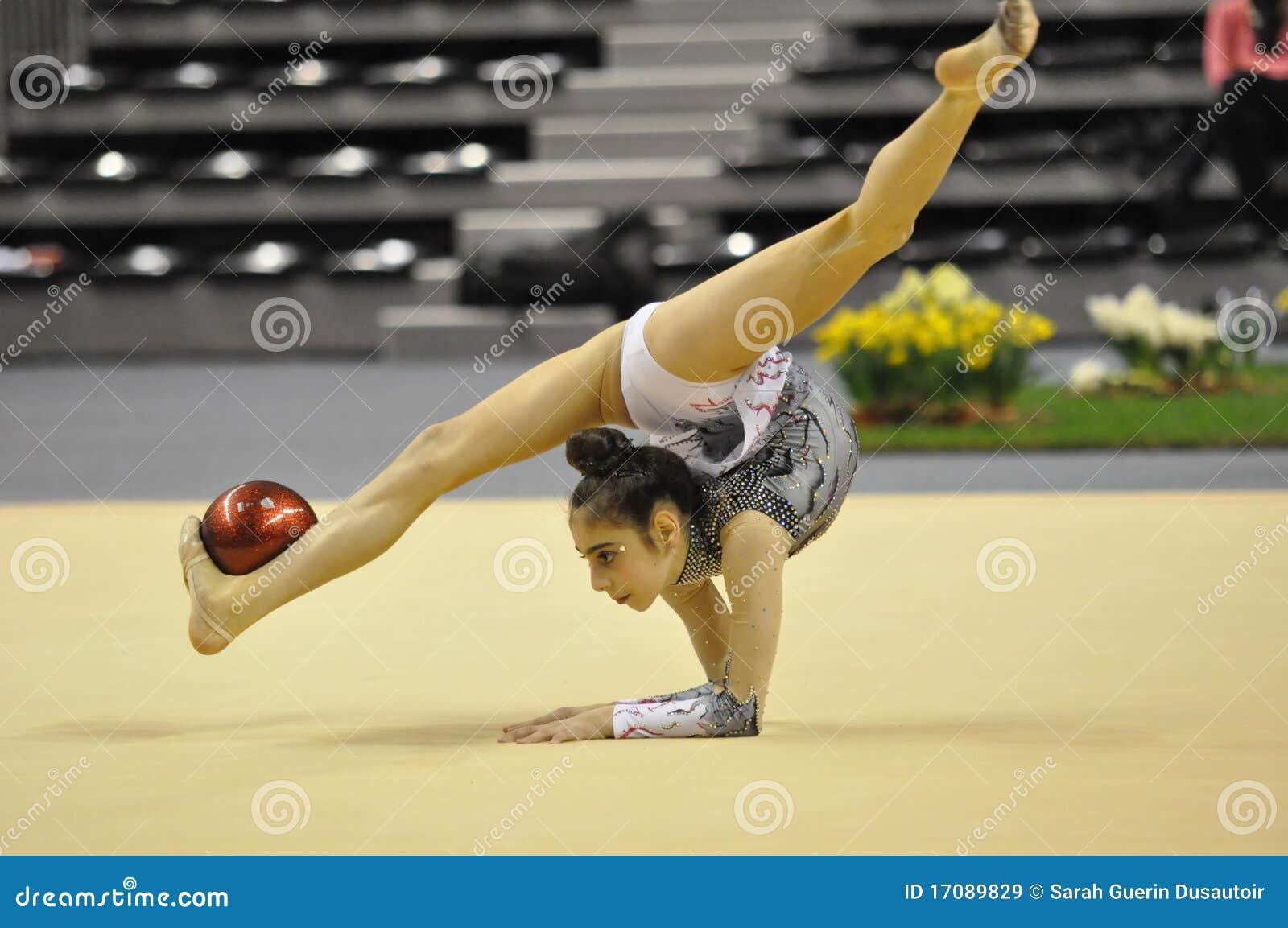 Rhythmisches gymnastisches, Rana Tokmac