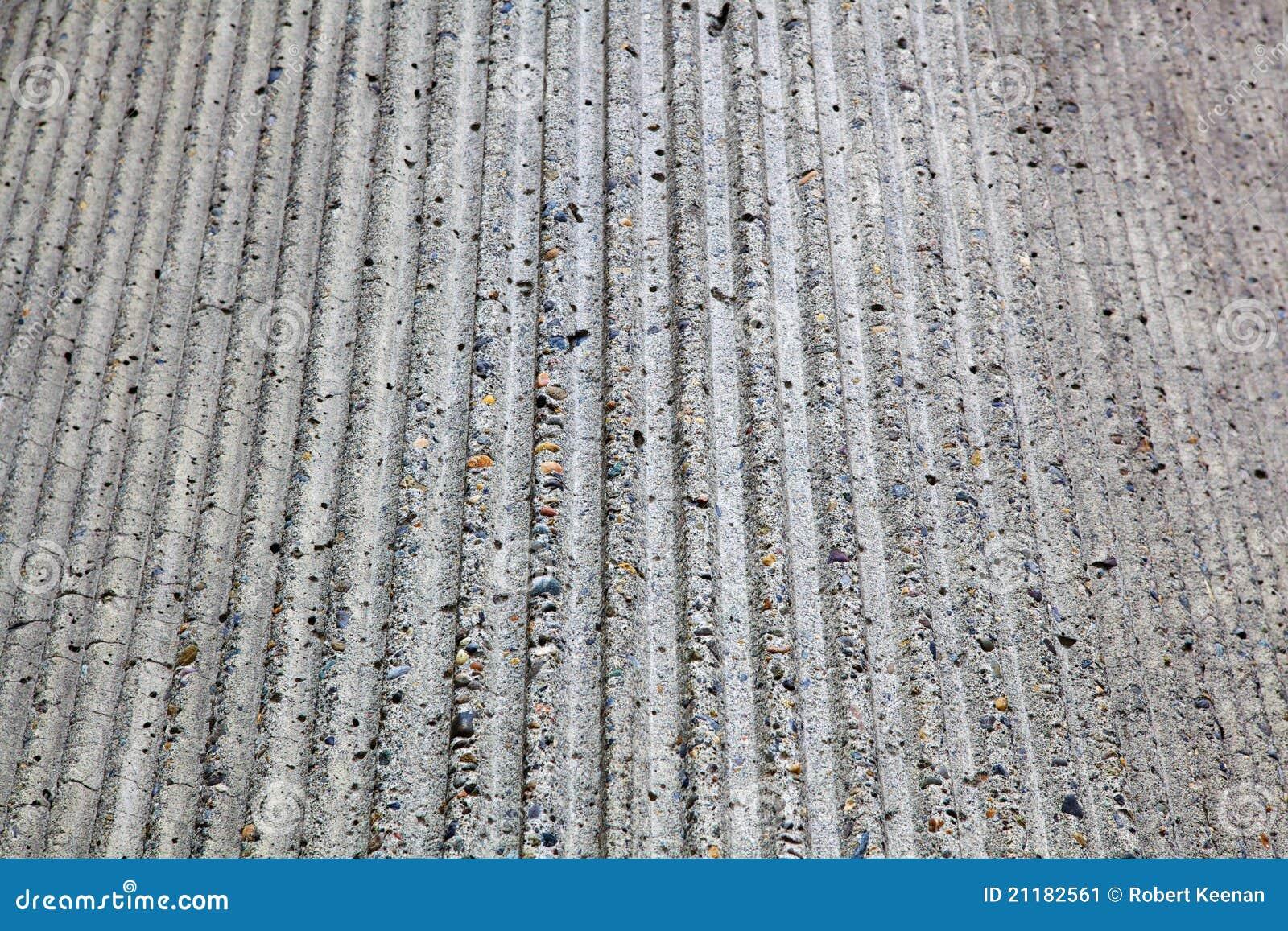 ribbed concrete corner stock image   image 21182561