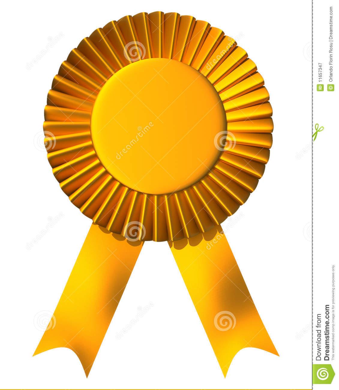 Ribbon First Place Award Royalty Free Stock Photography - Image ...