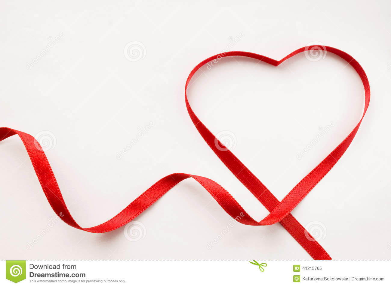 Ribbon heart