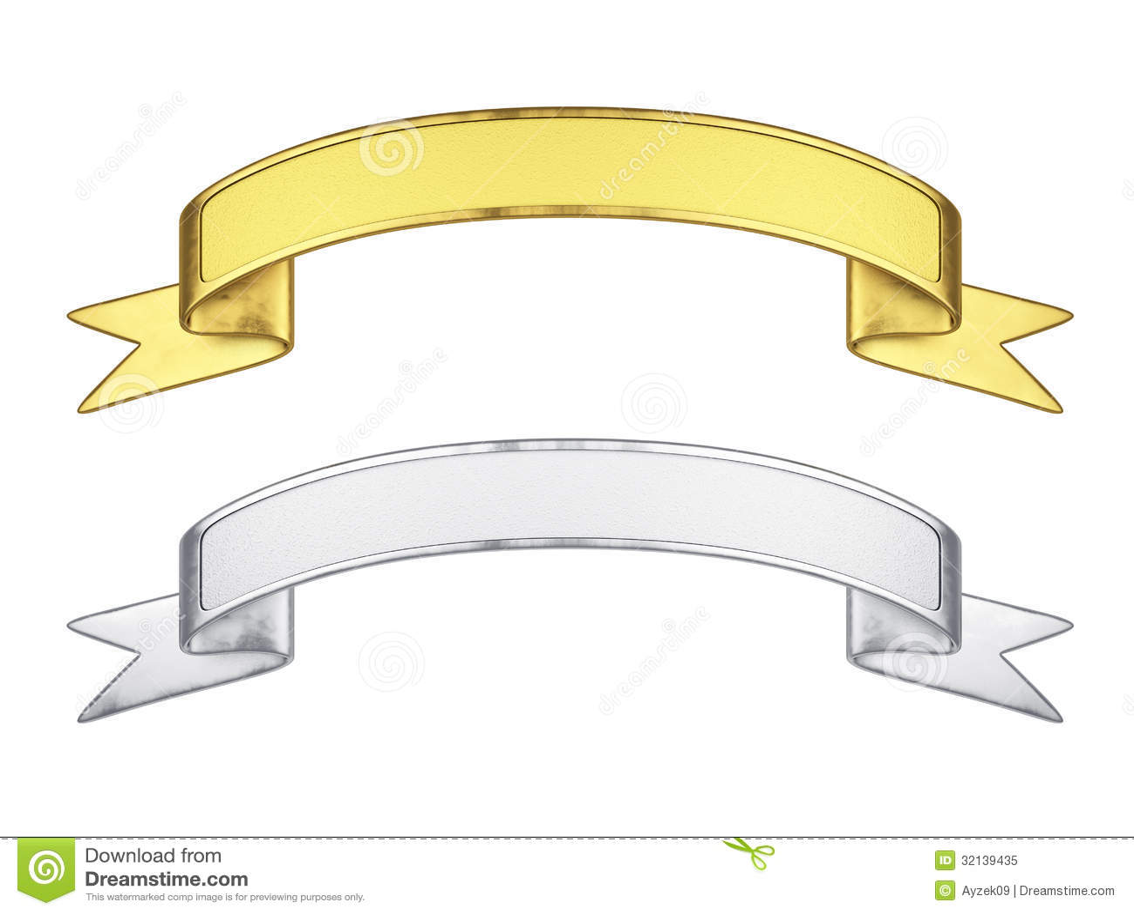 Ribbon Set Royalty Free Stock Photo - Image: 32139435